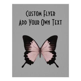 Big Red & Black Butterfly 21.5 Cm X 28 Cm Flyer