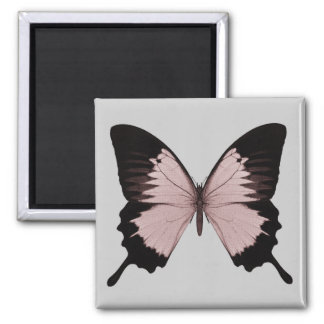 Big Red & Black Butterfly Fridge Magnets