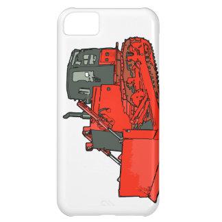 Big Red Bulldozer iPhone 5C Case