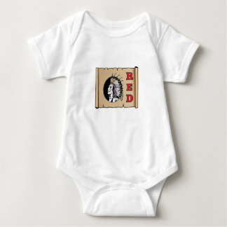 big red chief baby bodysuit