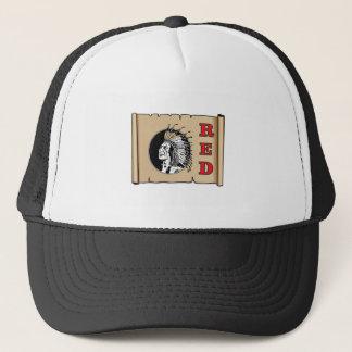 big red chief trucker hat