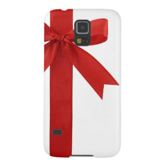 Big Red Christmas Bow Case For Galaxy S5