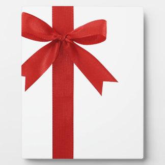 Big Red Christmas Bow Display Plaques