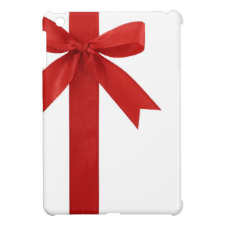 Big Red Christmas Bow Cover For The iPad Mini