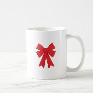 Big Red Christmas Bow Coffee Mug