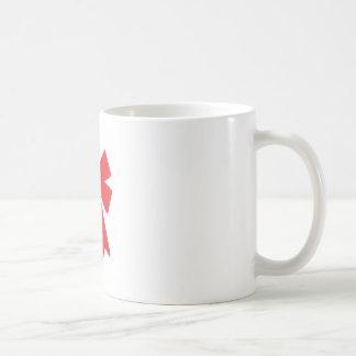 Big Red Christmas Bow Mugs