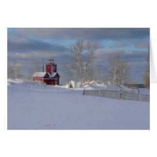 Big Red Christmas Card