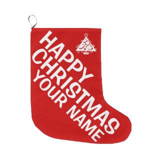 Big Red Custom Christmas Stocking