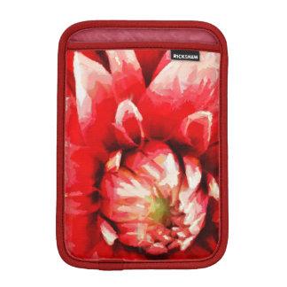 Big red flower iPad mini sleeve