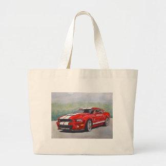 Big Red Large Tote Bag