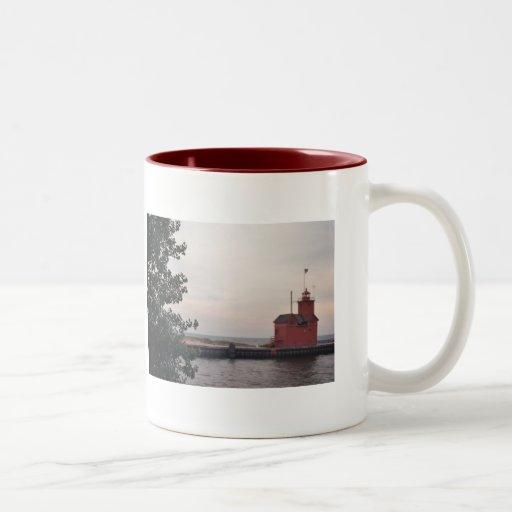 """""""Big Red"""" Lighthouse... Mug"""
