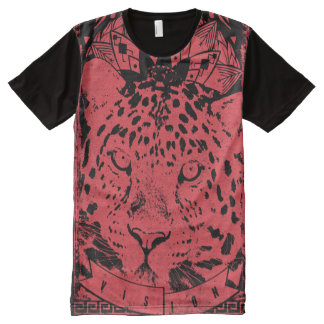 Big Red Lion All-Over Print T-Shirt