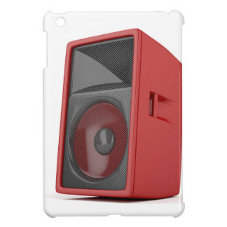 Big red loudspeaker iPad mini case