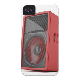 Big red loudspeaker iPhone 4 cover