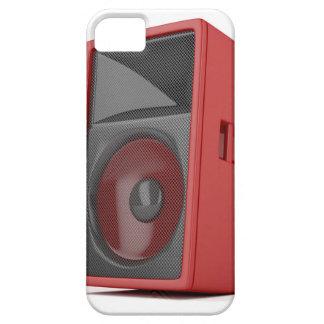Big red loudspeaker iPhone 5 cover