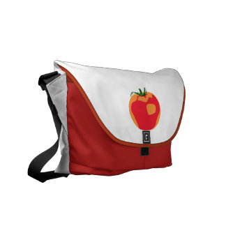 Big Red  Tomato Commuter Bag