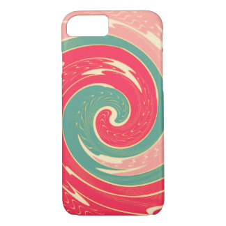 Big red wave iPhone 7 case