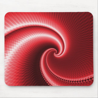 Big Red Wave Mousemat
