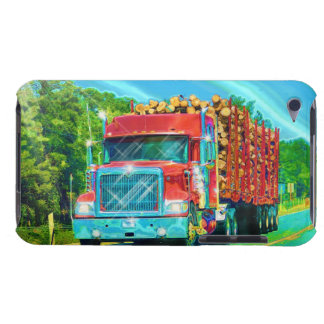 Big Rig, Heavy Transport Vehicle, Truck Barely There iPod Case