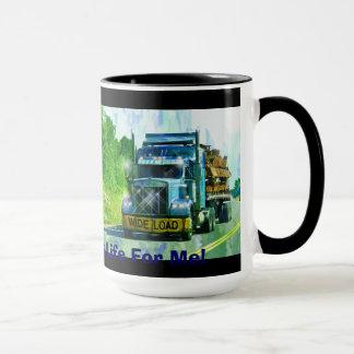 Big Rig, Heavy Transport Vehicle, Truck Mug
