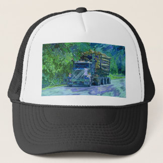 Big Rig Logging Truck Driving Trucker Hat Series