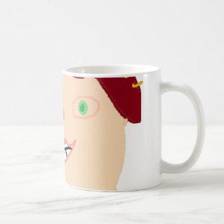 big rob basic white mug