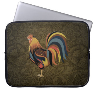 Big Rooster On The Country Farm Deco Ranch Art Laptop Sleeve