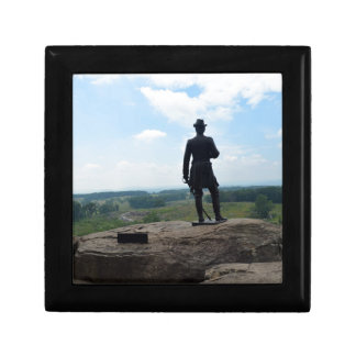 Big Round Top in Gettysburg Small Square Gift Box