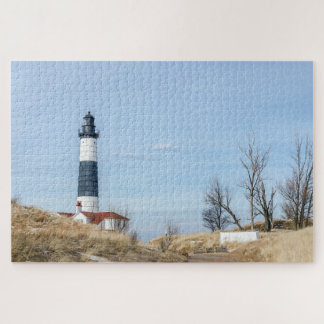 Big Sable Point Lighthouse and Tower Jigsaw Puzzle