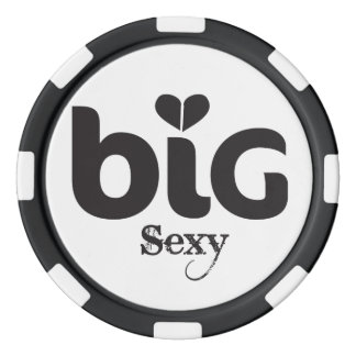 Big Sexy Poker Chip
