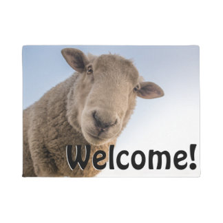 Big Sheep - Welcome! Doormat