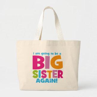 Big Sister Again Canvas Bags