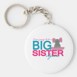 Big Sister Again Elephant Keychain