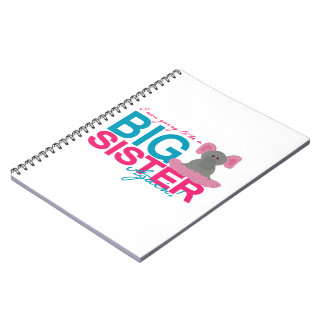 Big Sister Again Elephant Notebook