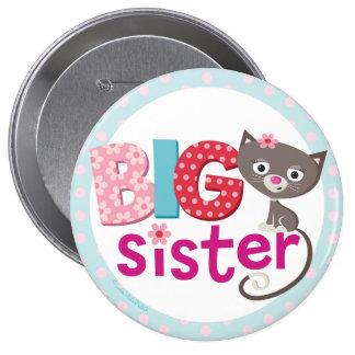 Big sister Badge/Button 10 Cm Round Badge