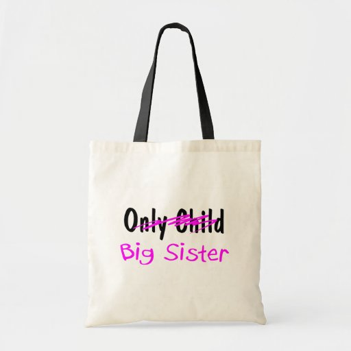 Big Sister Canvas Bags
