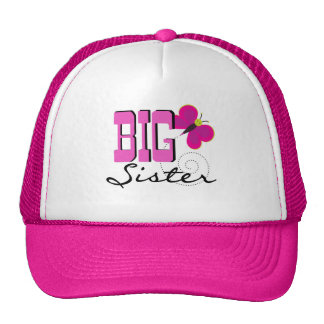Big Sister Butterfly Tshirts and Gifts Trucker Hat