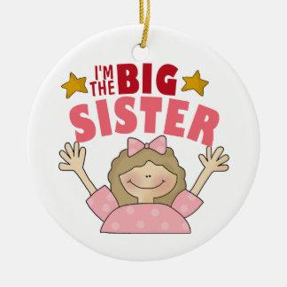 Big Sister Christmas Ornament