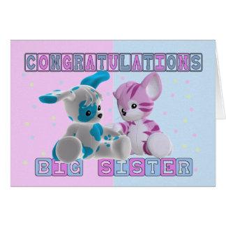 Big Sister Congratulations Card