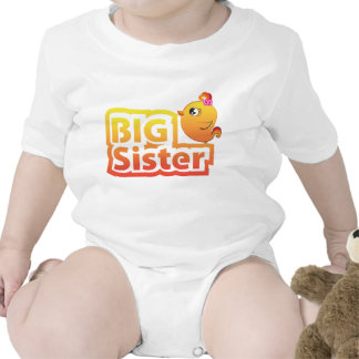 Big sister cute baby chicken bird Infant Creeper