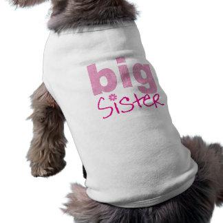 Big Sister Sleeveless Dog Shirt