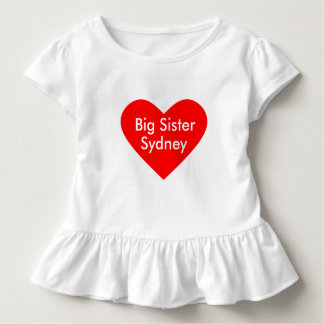 Big Sister Dress Personalize with Name