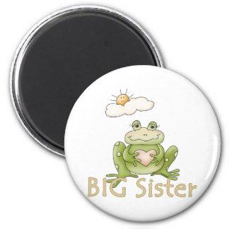 Big Sister Frog Magnet