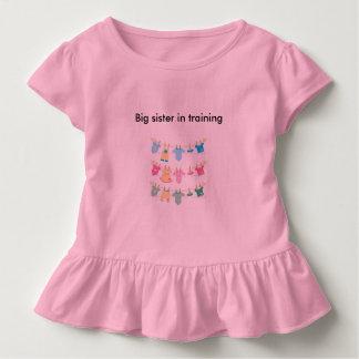 big sister in training girls tshirt