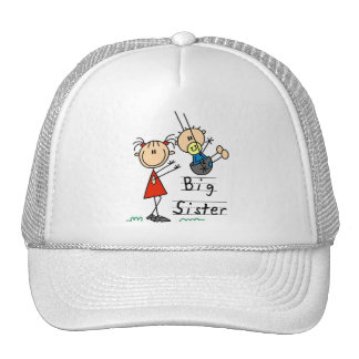 Big Sister Little Brother T-shirts and Gifts Hat