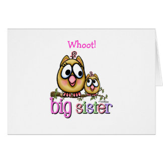 Big Sister little Sis Card