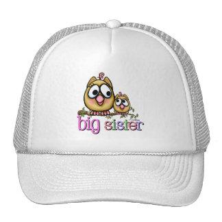 Big Sister Little Sister Owls Mesh Hat