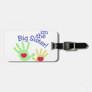 Big Sister Luggage Tag