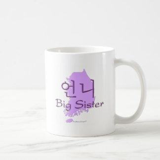 Big Sister (of a Girl) Korea Coffee Mug