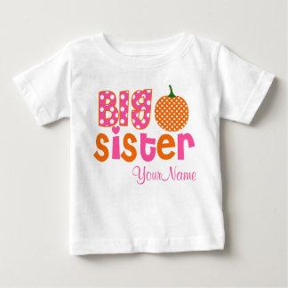 Big Sister Pumpkin Personalized Shirt